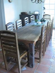 DIY Wooden Table With Chairs
