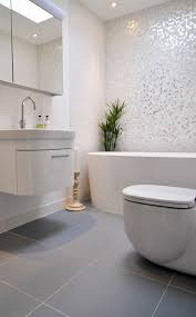 Plants In Bathrooms Ideas by Victorian Grey Bathroom Ideas With Built In Tub And Pedestal Sink