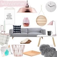 wohnzimmer inspiration in kupfer apricot und rosa pinkepank
