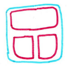 How To Draw Lunchbox With Breakfast Step 2
