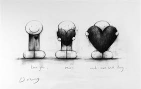 Art Black And White Drawing Drawings Heart Illustration