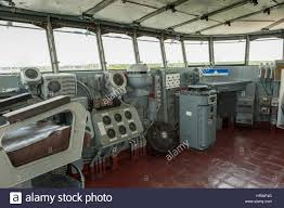 100 Aircraft Carrier Interior Inside View Of The Captains Bridge Command Bridge Of The