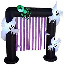 Airblown Halloween Inflatable Archway Tunnel by Amazon Com Bzb Goods 8 Foot Illuminated Halloween Inflatable