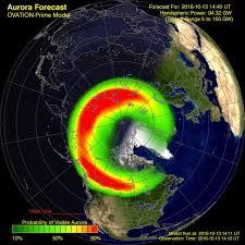 Great Northern Lights forecast tonight where it s not raining