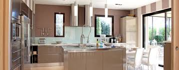 cuisine avec ilots cuisine avec îlot central choix du modèle plan idées d aménagement