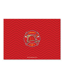 100 Fire Truck Birthday Party Invitations Red Pipsy