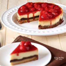 White Chocolate Strawberry Cheesecake gluten free grain free Paleo by
