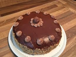 schoko haselnuss nougat torte das muffin mädchen