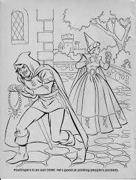 Advanced Dungeons Dragons Characters Coloring Book Part One