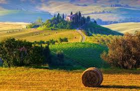 Tuscany Italy Landscape Wallpaper