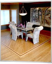 New Hardwood Floors In Dining Room Of Home