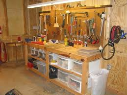 Work Benches With Storage