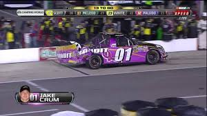 Jake Crum Crash - 2012 NASCAR Camping World Truck Series In ... 2015 Kroger 250 At Martinsville Speedway Nascar Camping World Truck Series Headling Eldora For 2014 Circle Ncwts Estes Opts Out Of Phoenix Results November 10 2017 Racing News Race Take Kansas Pocono July 29 Gamecocks Entry To Return Friday Race Dover Host Xfinity Chase Atlanta Windows Presented By Sim Homestead Starting Lineup 17