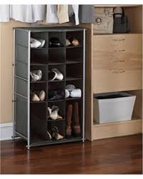 Incredible Winter Deals on Mainstays Shoe and Boot Rack Grey Flannel