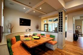 Kitchen Diner Booth Ideas by Kitchen Eating Area Bench Seating Ideas Idesignarch Interior
