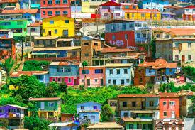 100 Houses In Chile Valparaiso Valparaiso Colored Houses Of Valparaiso