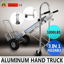 3 In 1 Aluminum Folding Hand Truck Trolley Heavy Duty Dolly 450kg ... Sydney Trolleys At88 Standard Hand Folding Trucks Dollies At Lowescom Motorized Truck Dual Pneumatic Tires Ag Tread Front Plate Cosco 3 In 1 Alinum Review Youtube 2 In Dolly Utility Cart Heavy Duty Cadian Tire Hand Truck 9899 Redflagdeals 1000 Lb In Assisted With Flat Free Carts And 184149 Convertible Alinium Trolley Buy Steel On Wesco Industrial Products Inc