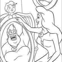 Ariel And King Triton Ursula