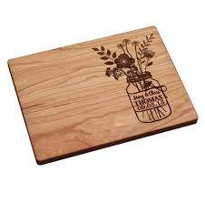 Cutting Board Engraved Buy Personalized Kitchen Wedding Gifts Hand Made Ornate Scroll Wooden