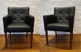 breite schwarz lederstühle esszimmerstühle stuhl sessel echt