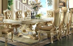 Fancy Dining Room Elegant Table High End Modern Tables Furniture