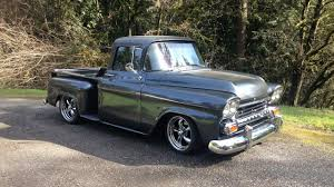 1959 Chevrolet Truck Custom 495HP LS3 - YouTube 1959 Chevy Truck 195559 Chevy Trucks Pinterest Front Right Side Maguiredonny Small Trucks Awesome 1955 Enthill History 1918 Used Chevrolet Apache Koolant At Find Great Cars Serving Ramsey Apache Pickup 350 Engine Rebuild The Barn Duffys Classic 2014 Ousci Recap Wes Drelleshaks Video A Clean Green Pickup To Drool Over Hot Rod Network File1959 Pickupjpg Wikimedia Commons