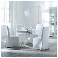 Armless Chair Slipcover Ikea by Henriksdal Chair With Long Cover Blekinge White Birch Ikea