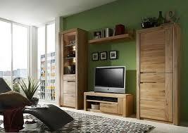 massivholz anbauwand 4tlg kernbuche massiv geölt wohnzimmer