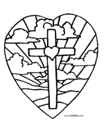 Jesus Cross Coloring Page This Is A Bible Of Bearing And With Crown Thorns Upon His Head He Looking