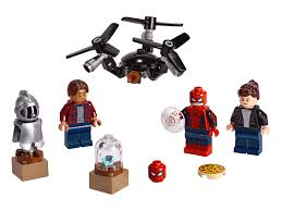100 Lego Space Home LEGO Ninjago And SpiderMan Minifigure Packs Now Available