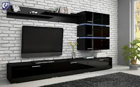 Ebay Uk China Cabinets by Contemporary Living Room Furniture Cabinet Floating Wall Storage
