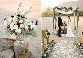 Rustic And Elegant Winter Wedding Inspiration