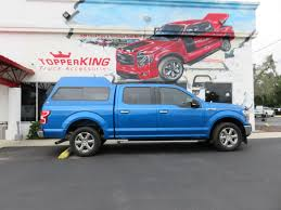 100 Supreme Truck 2018 Blue Ford F150 Ranch TopperKING TopperKING