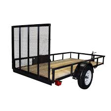 100 Renting A Truck From Home Depot Triple Crown 2110 Lb Capacity 5 Ft X 10 Ft Utility Trailer