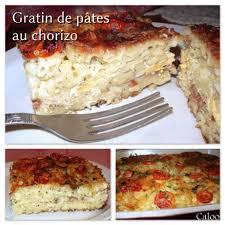 gratin de pâtes au chorizo mamie in the kitchen