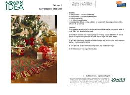 72 Inch Christmas Tree Skirts by Sew Your Own Christmas Tree Skirt Free Patterns