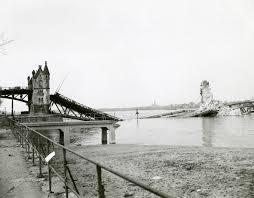 100 Water Bridge Germany German Rhine River Bridge Knocked Out By American Demolition