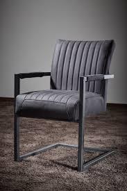 freischwinger stuhl mit armlehnen repe