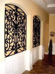TableauxR Faux Iron And Veneer Decorative Grilles Allow For Unlimited Options Wall Niche Decor Personalize Niches Or Any Residential Space With