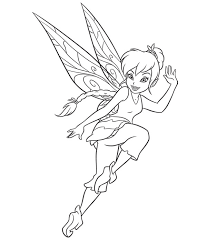 Download Fairies Coloring Pages 13