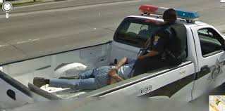 100 Google Maps For Trucks Street View Captures An Arrested Mexican Riding In The Back
