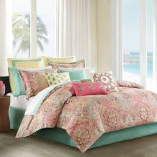 Lush Decor Belle 4 Piece Comforter Set by Pretty Bedding Sets Beige And Blue Patterned Pretty Unique