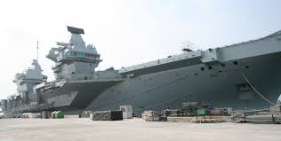 100 Aircraft Carrier Interior Trimline DEFENCE By Appointment To HMS Queen Elizabeth
