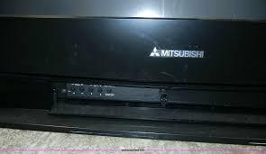 mitsubishi dlp tv wdow repair problem bulb wd 60735 57
