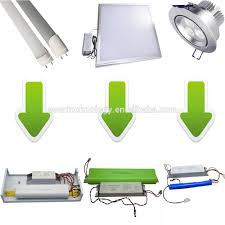White Downlighter Conversion Kit Convert by 10w Led Downlight Emergency Lighting Battery Pack Includes