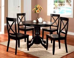 Black Kitchen Table Set Target by Furniture Magnificent Tables Chairs Amish Merchant Round Dining