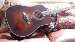 Ibanez Acoustic Artwood Vintage Thermo AgedTM AVD10BVS Guitar