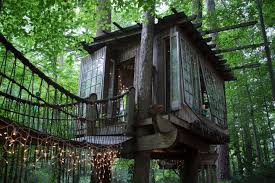 100 Treehouse In Atlanta Secludedtreehouseatlantafootbridgeairbnb SUITCASE Magazine