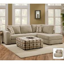 Kenton Fabric Sofa Parchment by Mickey Pewter 2pc Sectional Sofa Sofa Nrtradiant