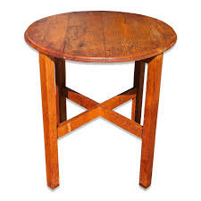 Antique Arts & Crafts Mission Oak Round Farmhouse Table - Scranton ... Stickley Chair Used Fniture For Sale 52 Tips Limbert Mission Oak Taboret Table Arts Crafts Roycroft Original Arts And Crafts Mission Rocker Added To Top Ssr Rocker W901 Joenevo Antique Rocking Chair W100 Living Room Page 4 Ontariaeu By 1910s Vintage Original Grove Park Inn Rockers For Chairs The Roycrofters Little Journeys Magazine Pedestal Collection Fniture